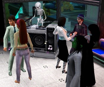the sims 3 dj booth