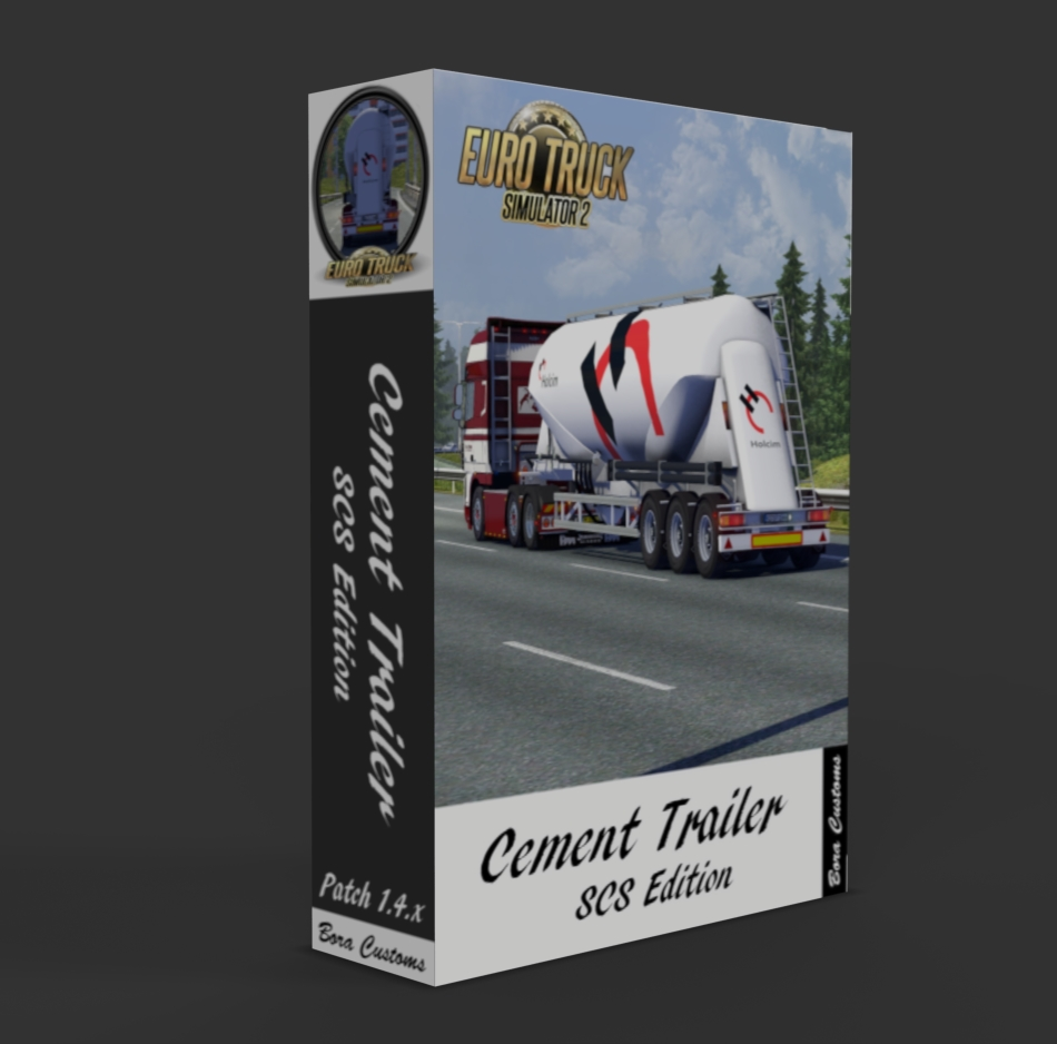 Cement-Trailer-Box