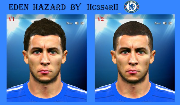 Pes2015-Face-Eden-Hazard-by-IIc3s4rII
