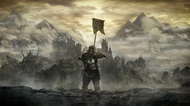 Dark-Souls-3-Rasing-flag-below-High-Wall-of-Lethric